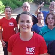 Red RRR short sleeve training top