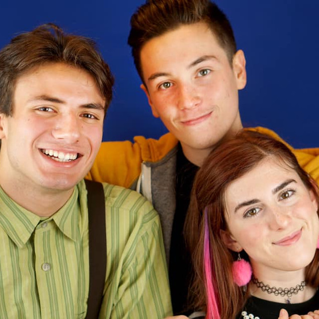 "Archie, Evan & Patrice in ""13 the Musical"""