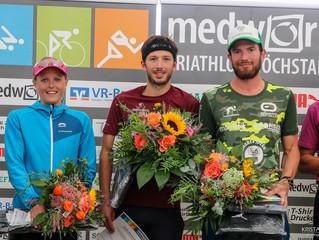 2.Platz beim Medwork Triathlon Höchstadt über die olympische Distanz