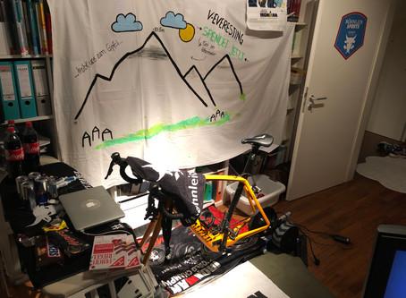 Virtual Everesting...die Ausgangssperre doppelt sinnvoll genutzt