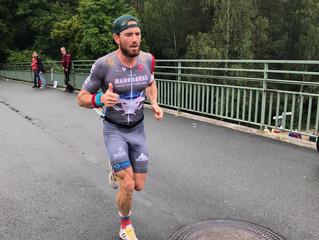 Zweiter Gesamtplatz über die Mitteldistanz beim Erlangener Triathlon