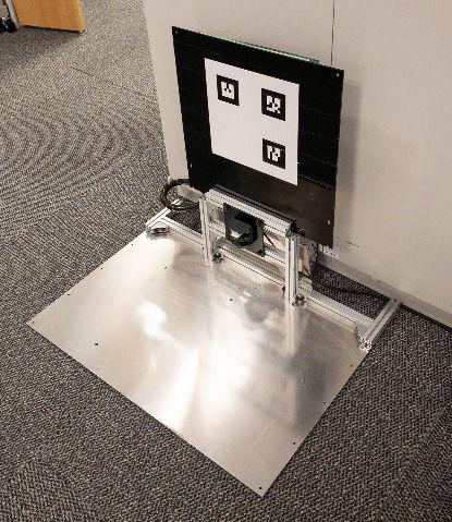 自動充電でメンテナンスフリー ソフトバンクの自律走行ロボットCuboidくんサイネージくん