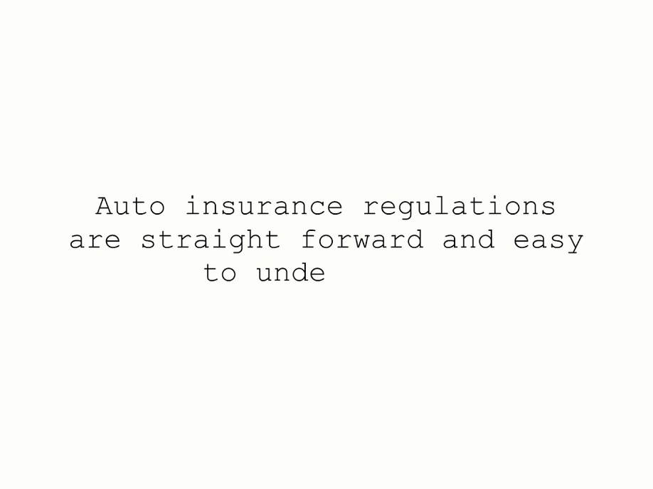 Can Health Insurance be as simple as Auto Insurance?
