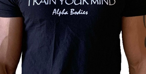 Train Your Body, Train Your Mind Fitted T-Shirt