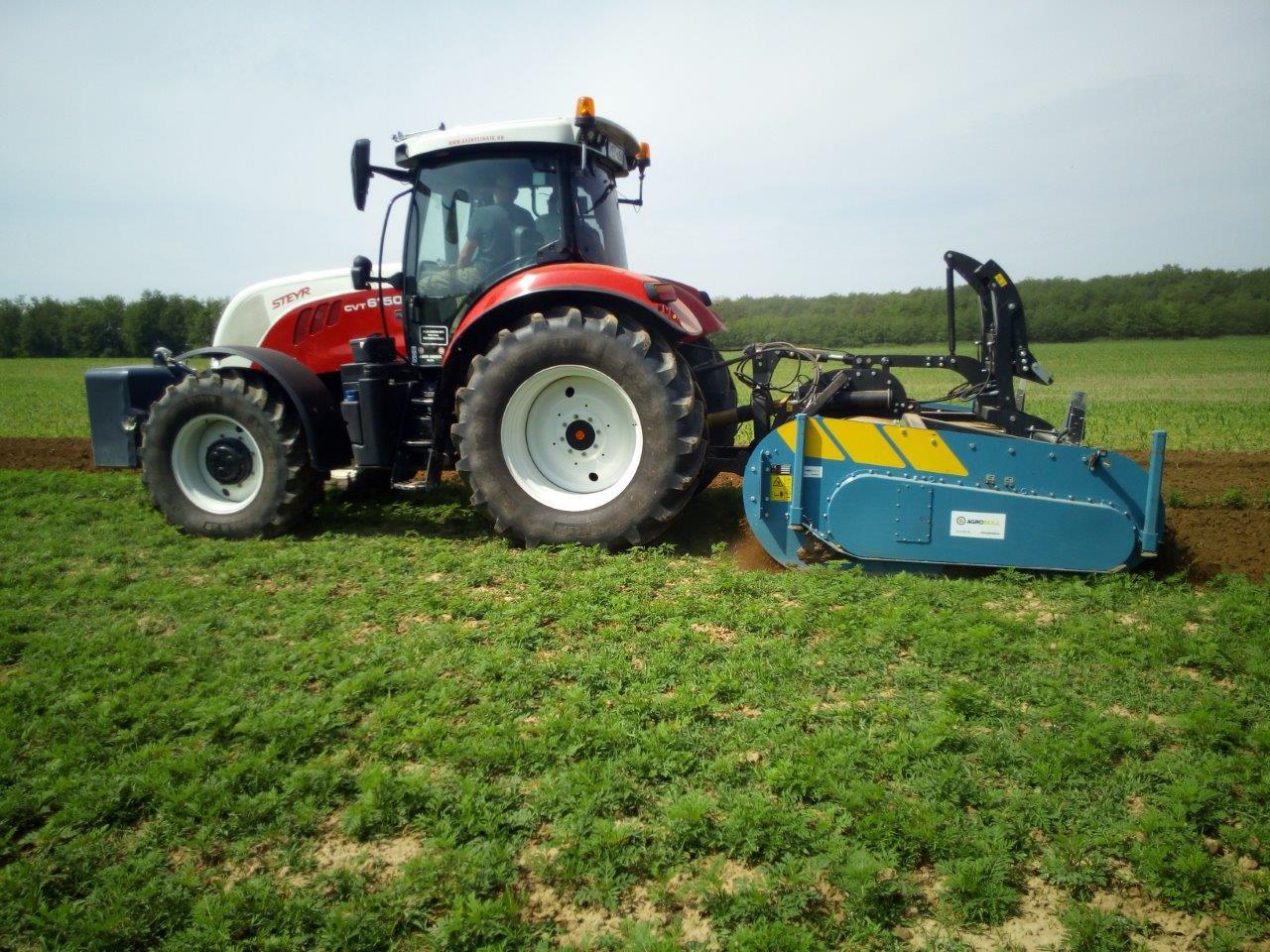 Egymenetes talajművelés