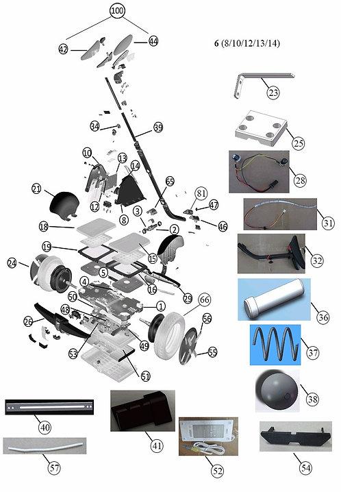Ersatzteile Segway-Ninebot Mini