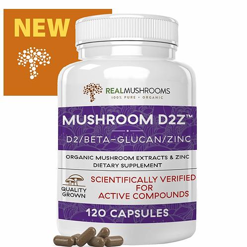 Mushroom D2Z - 120 capsules