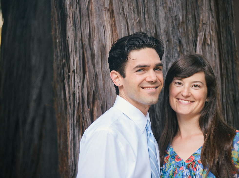 Jessica and Michael portrait