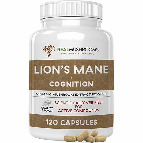 Organic Lion's Mane Extract - 120 capsules