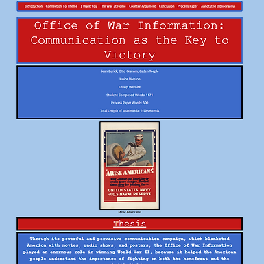 Office of War Information: Communication as the Key to Victory