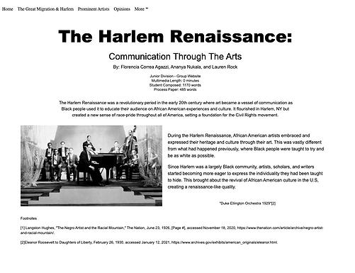 The Harlem Renaissance: Communication Through The Arts
