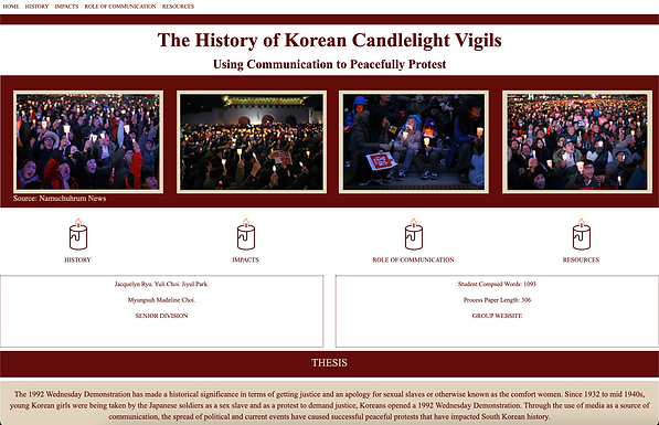 The History of Korean Candlelight Vigils: Using Communication to Peacefully Protest