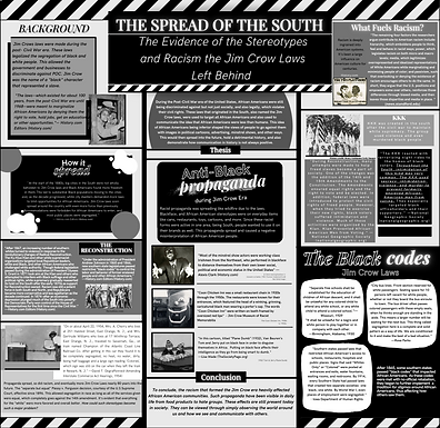 The Spread of the South:  The Evidence of the Stereotypes and Racism the Jim Crow Laws Left Behind