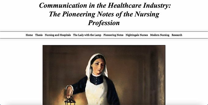 Communication in the Healthcare Industry: ​​​The Pioneering Notes of the Nursing ​​​​​​​Profession