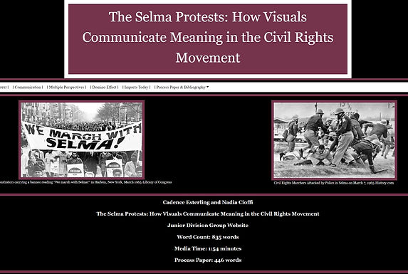 The Selma Protests: How Visuals Communicate Meaning in the Civil Rights Movement