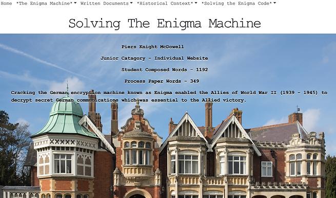 Decoding the Enigma Machine