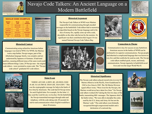 Navajo Code Talkers: An Ancient Language on a Modern Battlefield