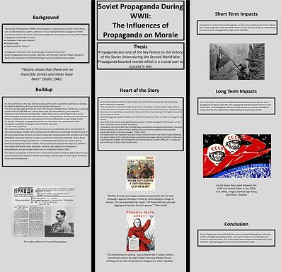 Soviet Propaganda During WWII: The Influences of Propaganda on Morale