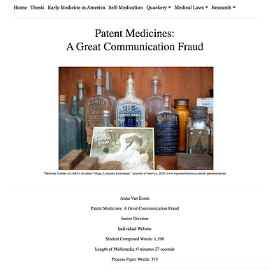 Patent Medicines: A Great Communication Fraud