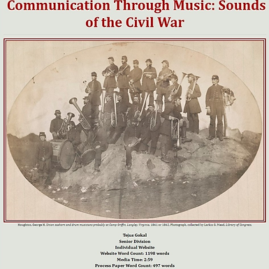 Communication Through Music: Sounds of the Civil War