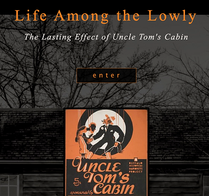 Life Among The Lowly: The Lasting Effect of Uncle Tom's Cabin