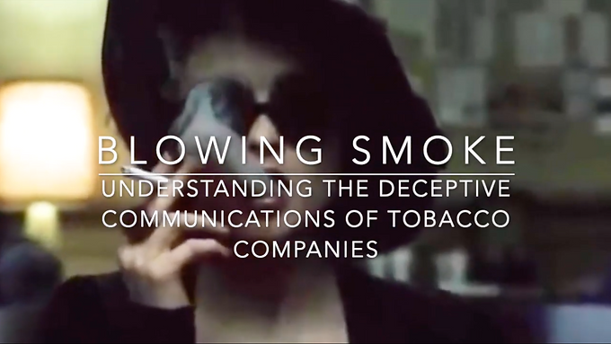 Blowing Smoke: Understanding the Deceptive Communications of Tobacco Companies