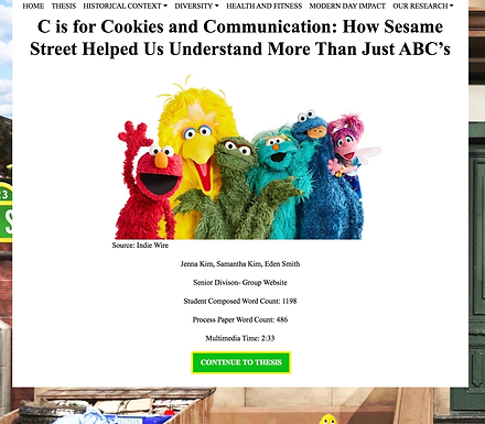 C is for Cookies and Communication: How Sesame Street Helped Us Understand More Than Just ABCs