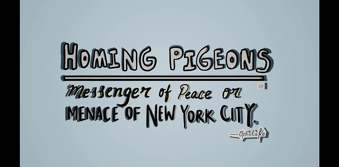 Homing Pigeons: Messenger of Peace or Menace of New York City