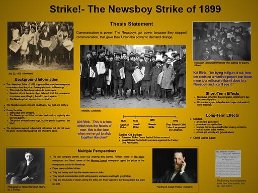 Kid Strike- Newsboy Strike of 1899