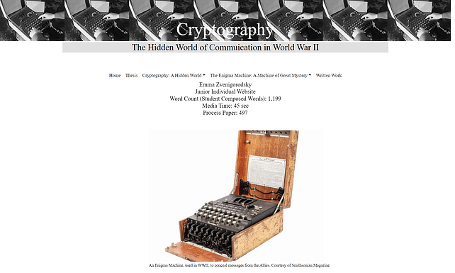 Cryptography: The Hidden World of Communication in WWII