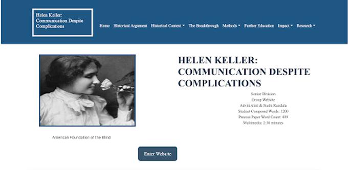Helen Keller: Communication Despite Complications