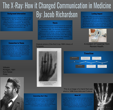 The XRay: How it Changed Communication in Medicine