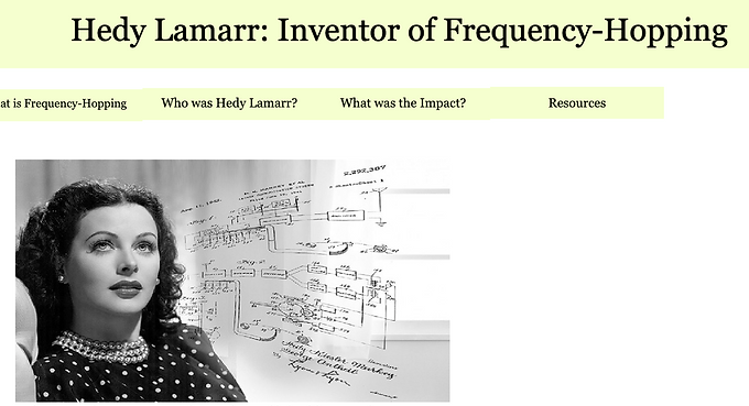 Hedy Lamarr: Inventor and Innovator in the Field of Radio Communication