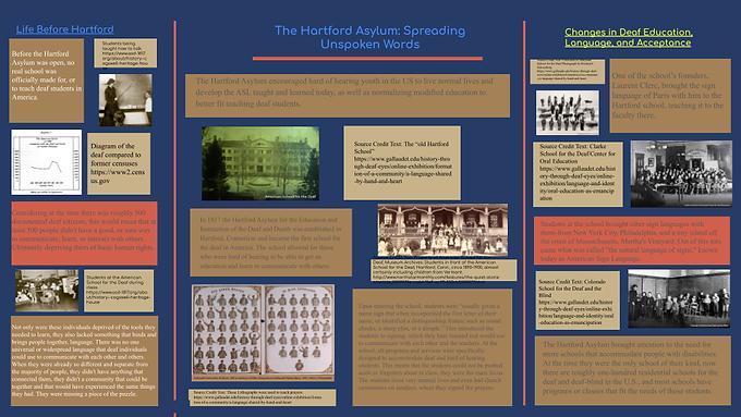 The Hartford Asylum: Spreading Unspoken Words