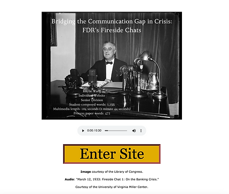 Bridging the Communication Gap in Crisis: FDR's Fireside Chats