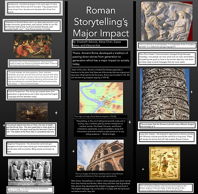 Roman Storytelling's Major Impact