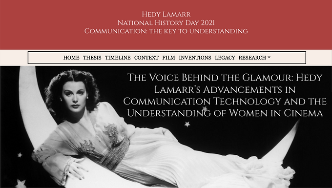 The Voice Behind the Glamour: Hedy Lamarr's Advancements in Communication Technology and the Understanding of Women in Cinema