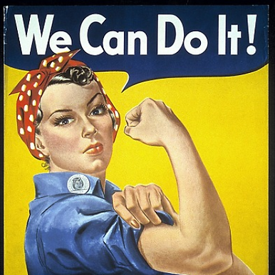 Communication and Understanding: Rosie the Riveter Sparks Change in Women's Roles