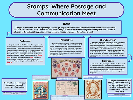 Stamps: Where Postage and Communication Meet