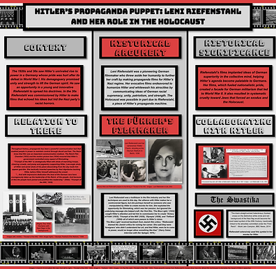 Hitler's Propaganda Puppet: Leni Riefenstahl and Her Role in the Holocaust