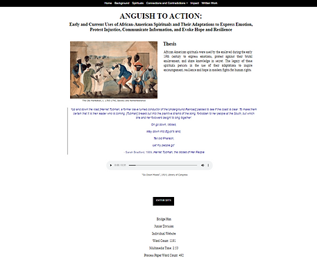 ANGUISH TO ACTION:Early and Current Uses of African-American Spirituals and Their Adaptations to Express Emotion, Protest Injustice, Communicate Information, and Evoke Hope and Resilience