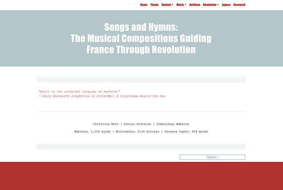 Songs and Hymns: the Musical Compositions Guiding France Through Revolution