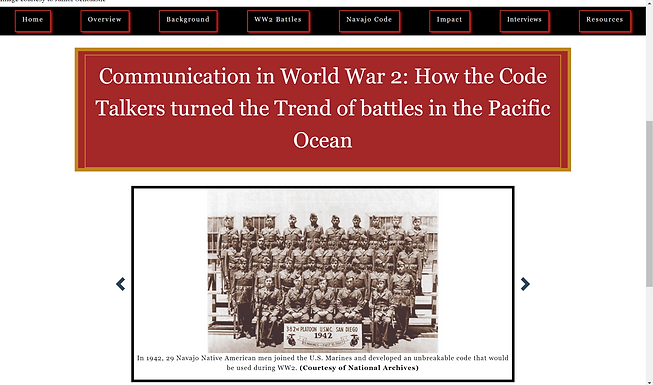 Communication in World War 2: How the Code Talkers turned the Trend of battles in the Pacific Ocean