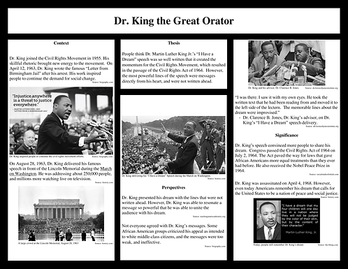 Dr. King the Great Orator