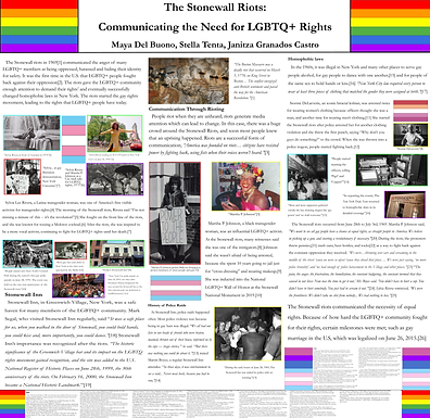 The Stonewall Riots: Communicating the Need for LGBTQ+ Rights