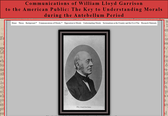 Communications of William Lloyd Garrison to the American Public