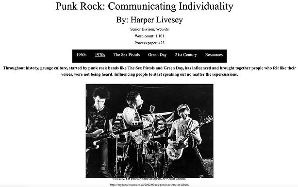 Punk Rock: Communicating Individuality