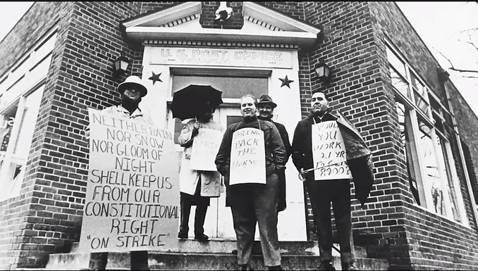 The Wildcat Strike of 1970: How Postal Workers Communicated their Grievances to the Nation