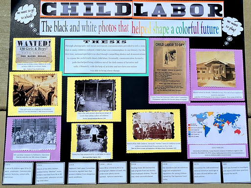 Child Labor: The black and white photos that helped shape a colorful future