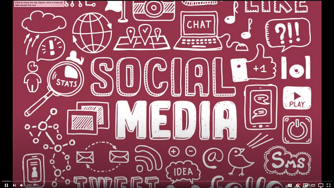 Communication through Social Media